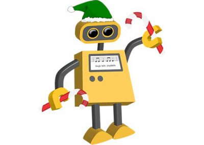 Robot 69: Holiday Elf