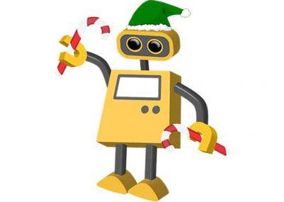 Robot 70: Holiday Elf