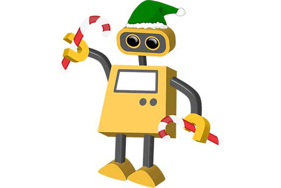 Robot 70: Holiday Elf