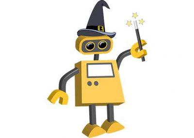 Robot 71: Magician