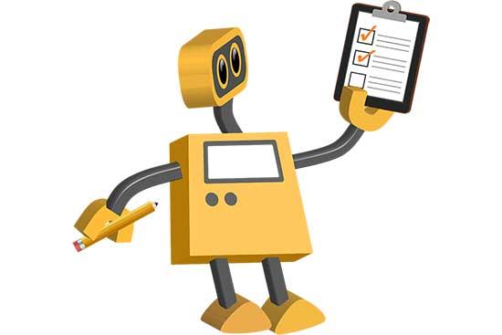 Robot 72: Checklist