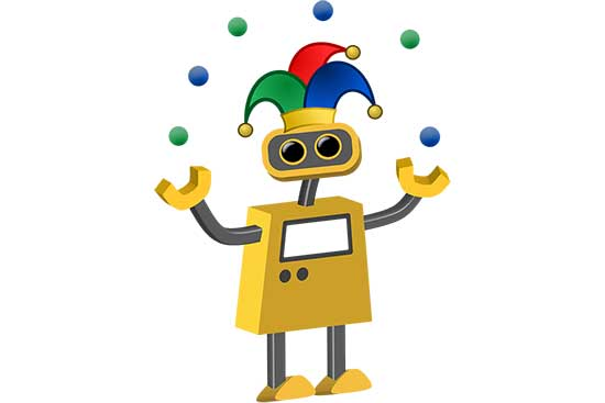 Robot 73: Skillful Juggler