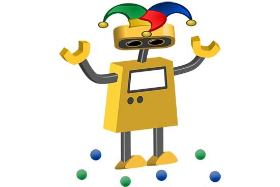 Robot 74: Beginner Juggler