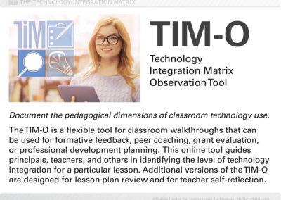 TIM-O Introduction Slide