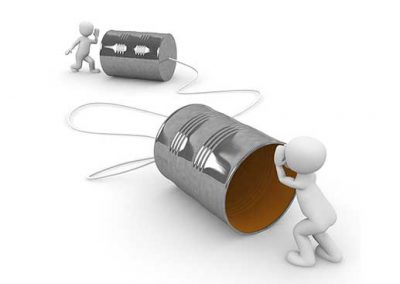 Tin Can Communication