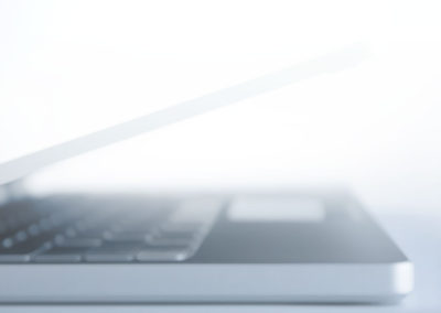 Soft Focus Laptop Background