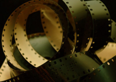 Analog Film Background