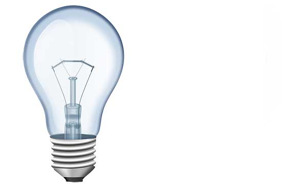 Idea Lightbulb Slide