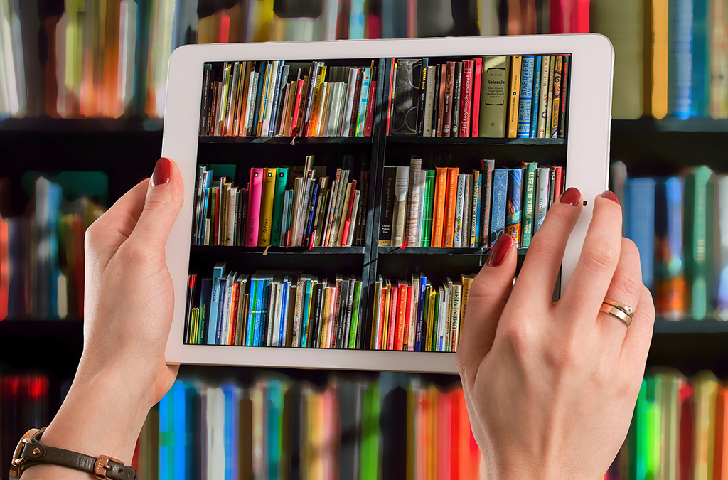 Books on a Tablet Computer