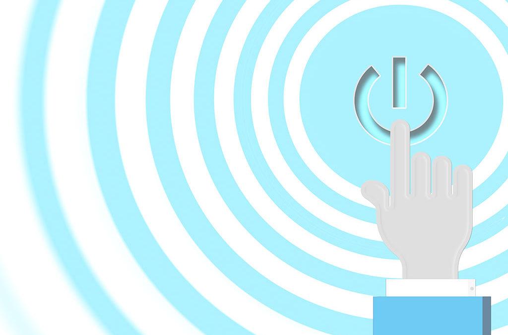 Power-On Slide Illustration