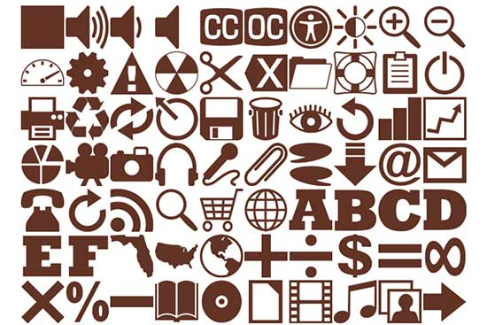 160 Brown Icons