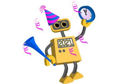 Robot 76: Happy New Year 2021