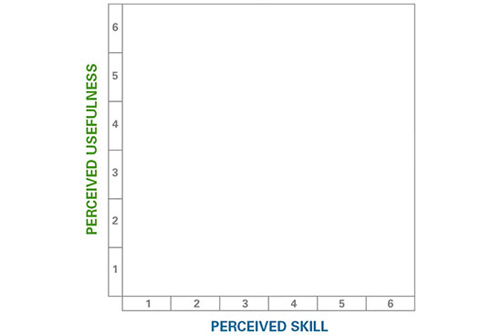 Perceived Skill and Usefulness, Blank