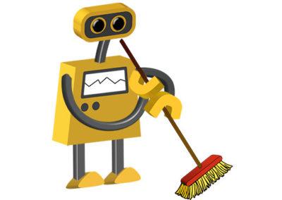 Robot 81: Janitor Robot