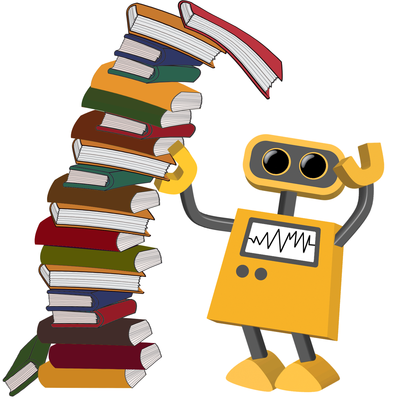 transparent robot books cartoons tower backgrounds robotics background technology matrix robots leaning integration nicepng fcit usf edu