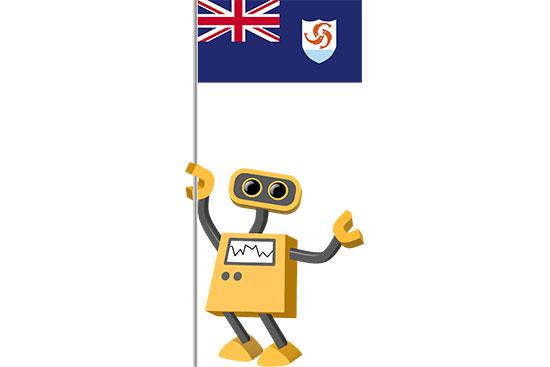 Robot 39-AI: Flag Bot, Anguilla