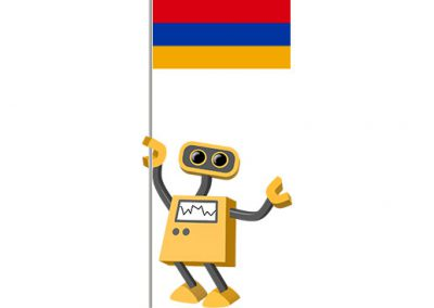 Robot 39-AM: Flag Bot, Armenia