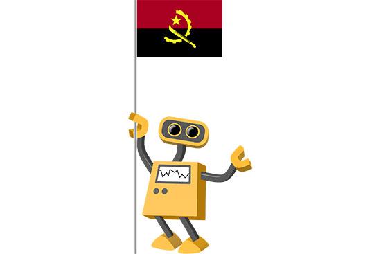 Robot 39-AO: Flag Bot, Angola