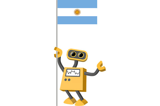 Robot 39-AR: Flag Bot, Argentina