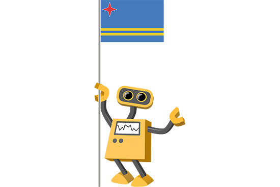 Robot 39-AW: Flag Bot, Aruba