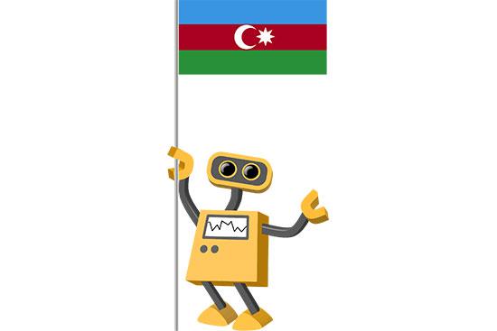 Robot 39-AZ: Flag Bot, Azerbaijan