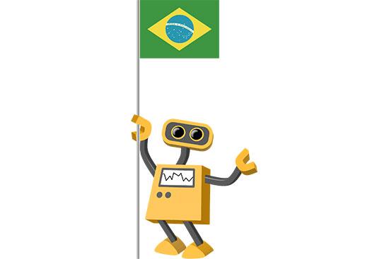 Robot 39-BR: Flag Bot, Brazil