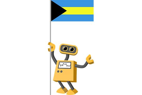 Robot 39-BS: Flag Bot, Bahamas
