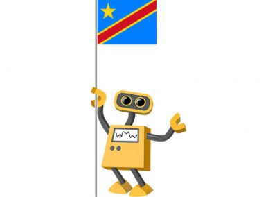 Robot 39-CD: Flag Bot, Democratic Republic of the Congo