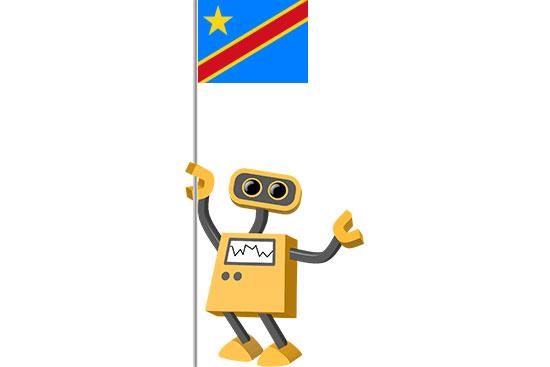 Robot 39-CD: Flag Bot, Democratic Republic of the Congo