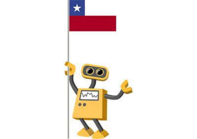 Robot 39-CL: Flag Bot, Chile