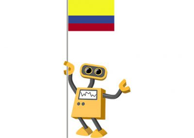 Robot 39-CO: Flag Bot, Colombia
