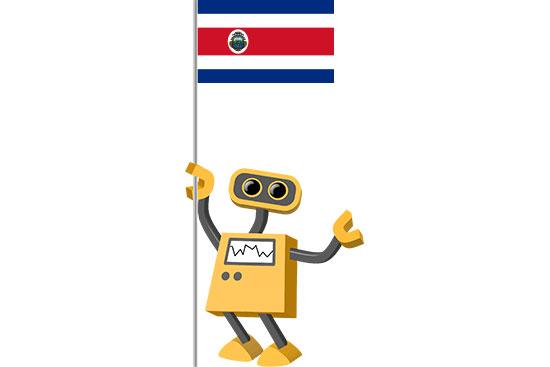 Robot 39-CR: Flag Bot, Costa Rica
