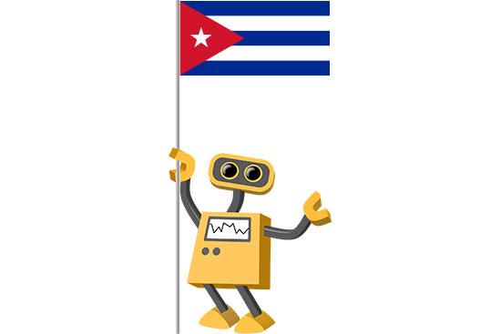 Robot 39-CU: Flag Bot, Cuba