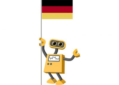 Robot 39-DE: Flag Bot, Germany