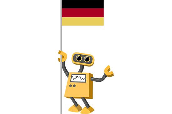 Robot 39-DE: Flag Bot, Germany