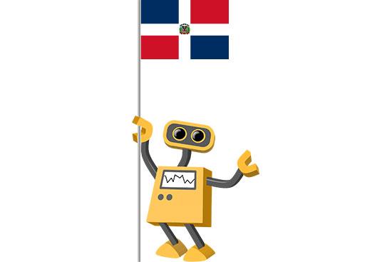 Robot 39-DO: Flag Bot, Dominican Republic