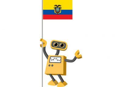 Robot 39-EC: Flag Bot, Ecuador