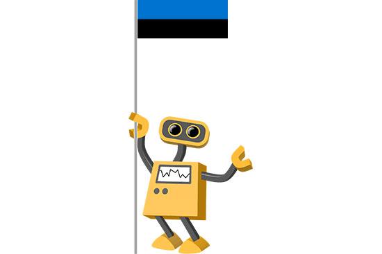 Robot 39-EE: Flag Bot, Estonia
