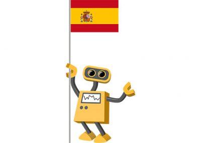 Robot 39-ES: Flag Bot, Spain