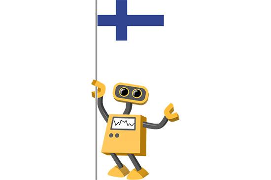 Robot 39-FI: Flag Bot, Finland