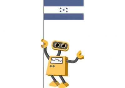 Robot 39-FM: Flag Bot, Honduras