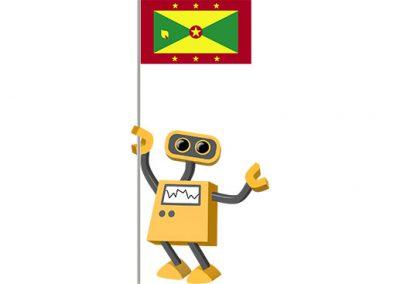 Robot 39-GD: Flag Bot, Grenada