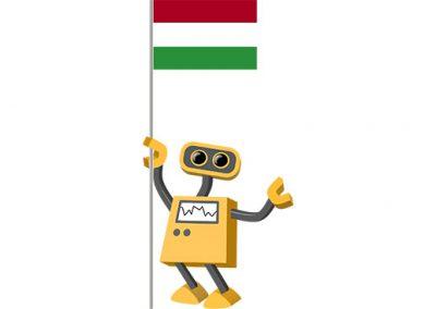 Robot 39-HU: Flag Bot, Hungary
