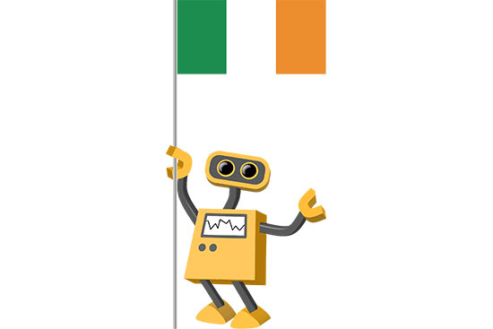 Robot 39-IE: Flag Bot, Ireland