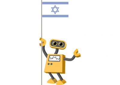 Robot 39-IL: Flag Bot, Israel