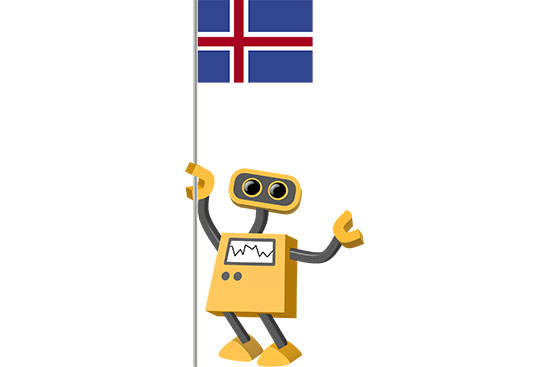 Robot 39-IS: Flag Bot, Iceland