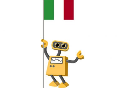 Robot 39-IT: Flag Bot, Italy