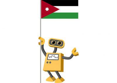 Robot 39-JO: Flag Bot, Jordan