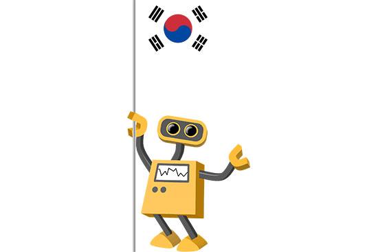 Robot 39-KR: Flag Bot, South Korea