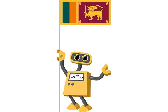 Robot 39-LK: Flag Bot, Sri Lanka